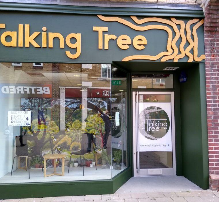 Talking Tree Shop front
